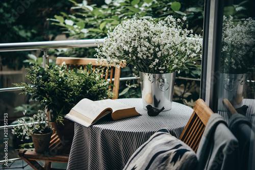 Cozy balcony Fototapeta