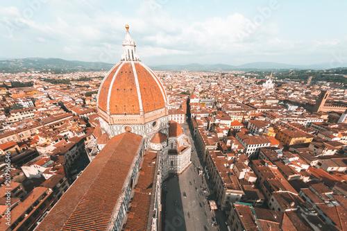 Foto op Plexiglas Europese Plekken Cathedral Santa Maria del Fiore in Florence, Italy
