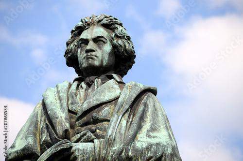Photo Ludwig van Beethoven, Musik, Kunst, Kultur, Sinfonie, Komponist, Denkmal, Statue