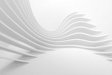 White Architecture Circular Ba...