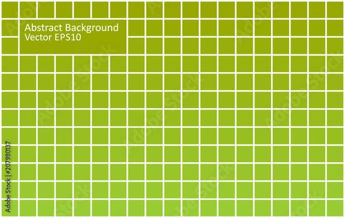 Staande foto Abstractie Art Green tiles abstract background