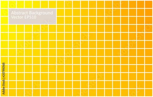 Staande foto Abstractie Art Yellow tiles abstract background