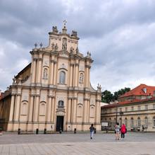 Beautiful Baroque Church In Th...