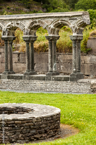 Keuken foto achterwand Historisch geb. Lyse Kloster ruins in Norway