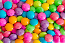 Pile Of Colorful Sweet Candy C...