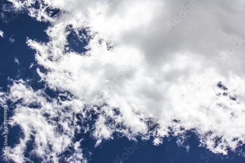 Fotografie, Obraz  Clouds in the sky closeup