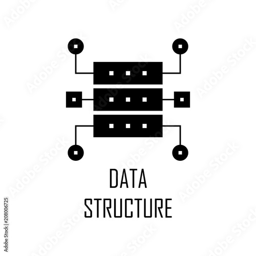 data structure icon element of web development for mobile concept and web apps detailed data structure icon can be used for web and mobile premium icon buy this stock vector and adobe stock