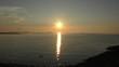 沖縄西海岸の夕陽