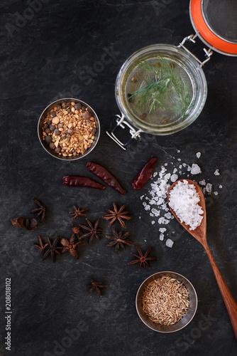 Overhead of pickling ingredients