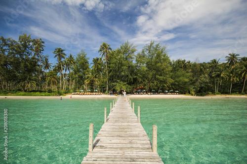 In de dag Olijf Kood island, Koh Kood, Trat, Thailand
