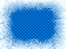Vector Transparent Blue Frost ...