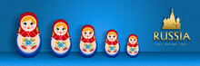 Russian Doll Web Banner For Special Russia Event