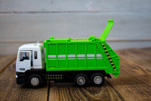 Children's Toy Green Garbage T...