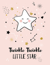 Little Star, Greeting Card For...