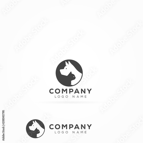Creative Pet Care and Veterinary Logo - Buy this stock