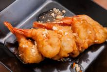 Fried Shrimp And Sauce, Thai S...