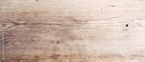 fototapeta na ścianę Rustikaler Holz Hintergrund - altes Holzbrett - Holztisch