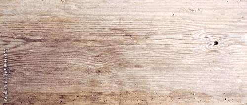 obraz lub plakat Rustikaler Holz Hintergrund - altes Holzbrett - Holztisch