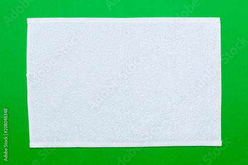 Fotografía spa towels, top view