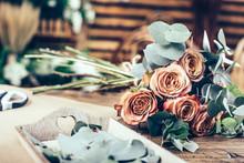 Flower Arrangement In Beautifu...