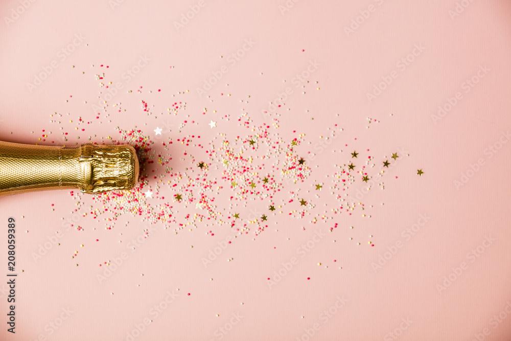 Fototapety, obrazy: Flat lay of Celebration