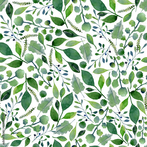 tekstura-zieleni-akwarela-swieze-wiosenne-liscie-i-galezie-drzew