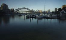 Sydney Harbor Bridge Over Lavender Bay