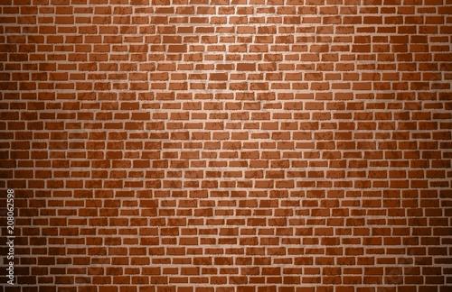 Brick wall vector background