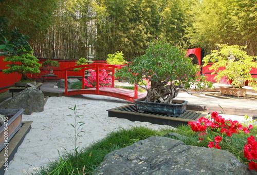 Photo sur Plexiglas Zen pierres a sable Jardin japonais