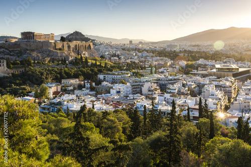 Keuken foto achterwand Athene Athens Sunrise 7