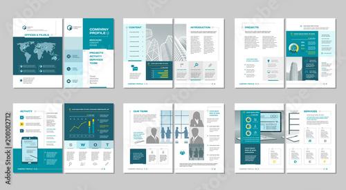 Fotografía  Brochure creative design