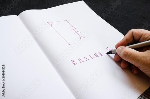 Fotografie, Obraz  hangman traditional game