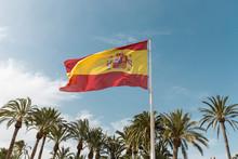 Flag Of Spain Beautiful And Bi...