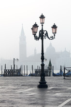 Lamp And St. Mark's Square Wit...