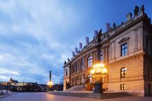Rudolfinum Concert Hall And Art Gallery, Prague, Czech Republic