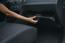 Hand Open Glove Compartment Bo...