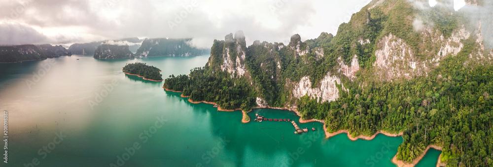 Fototapeta Khao Sok National Park, Cheow Lan Lake, Thailand