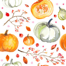 Pattern Pumpkins Painted With ...
