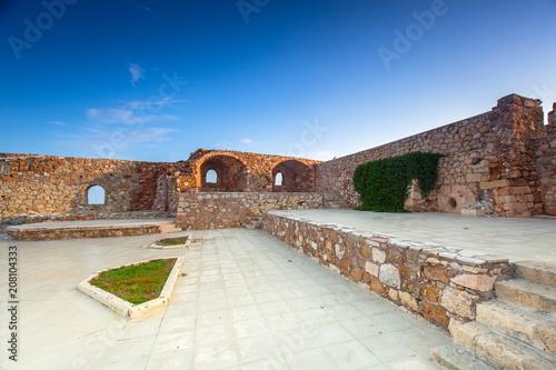 Keuken foto achterwand Historisch geb. Ruins of the old Venetian port of Chania on Crete, Greece