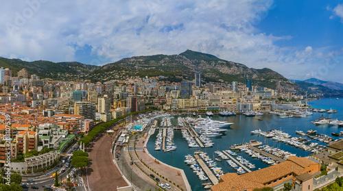 Aluminium Prints F1 Panorama of Monaco