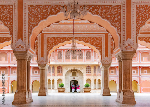 Canvastavla Jaipur city palace
