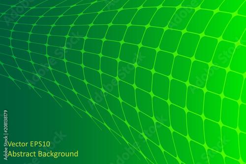 Staande foto Abstractie Art Green abstract background