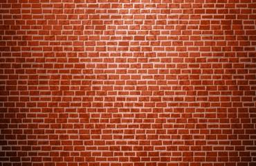 Realistyczny ściana z cegieł. Ceglana tekstura. Wektor.