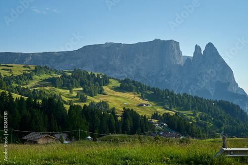 Foto op Plexiglas Europa Beautiful road high in the mountains - Dolomites, Alps, Tirol