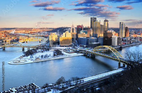 Photo Downtown Pittsburgh, Pennsylvania, U.S.A.