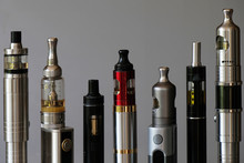 A Set Of Different Tube E-ciga...