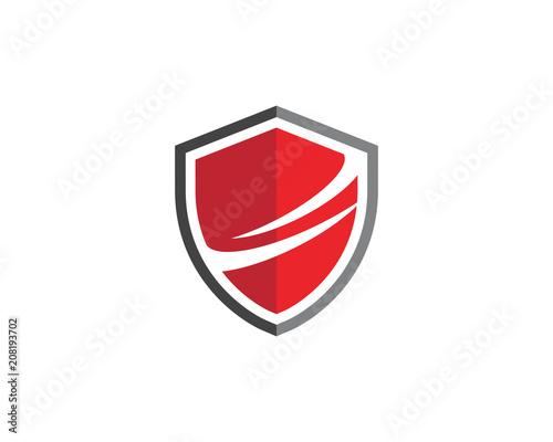 Fotografie, Obraz  Shield symbol logo template vector