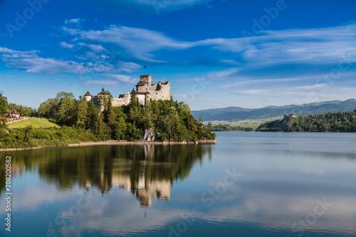 Keuken foto achterwand Historisch geb. Castle in Niedzica. Poland