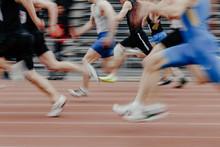 Legs Men Sprinters Runners Run...