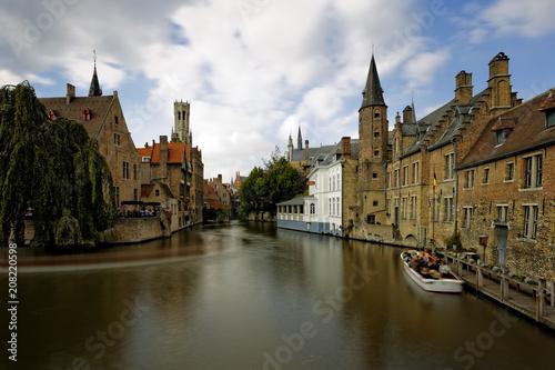Fotobehang Brugge Old town of Bruges..